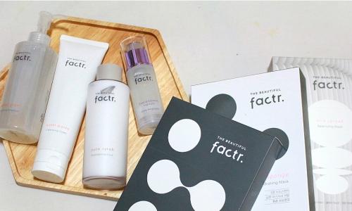 面部红潮,Factr丽绯特核心安瓶精华增强肌肤自我修复能力