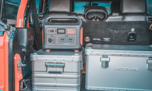 自驾露营带上电小二户外电源,创新多种户外生活方式