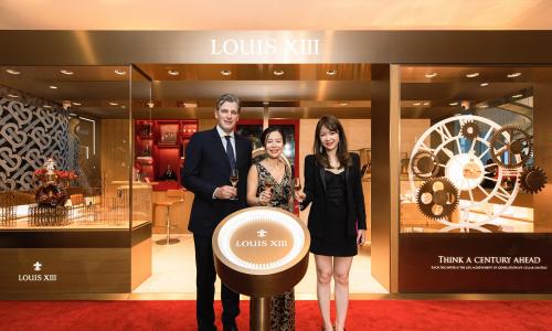 路易十三上海首家品牌店盛情启幕