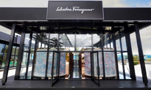 菲拉格慕Ferragamo限时概念店亮相中免集团三亚国际免税城 四重空间同构时尚传奇